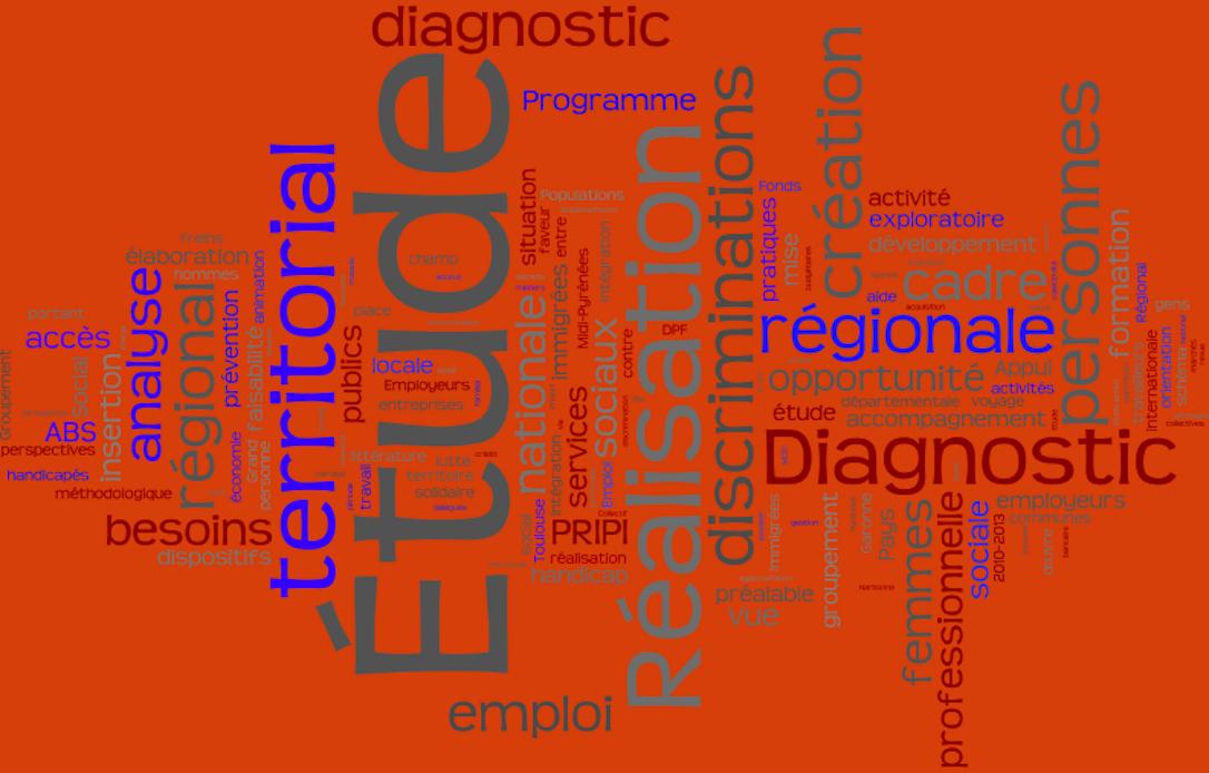 Etudes et diagnostics